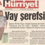 PKK'LI AHMET KAYA'YI HALA DİNLEYEN ve BEN SANATINA BAKARIM DİYENLERE GELSİN..!