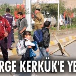 PEŞMERGE KERKÜK'E YERLEŞTİ