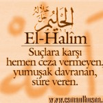 El-Halîm İsm-i Şerîfi