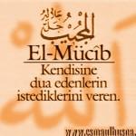 El-Mucîb İsm-i Şerîfi
